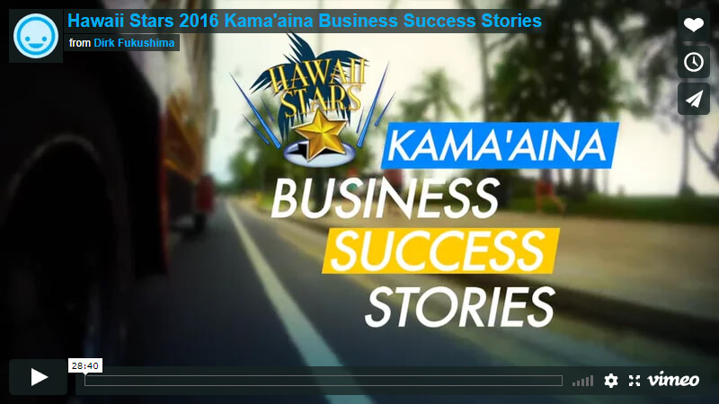 Hawaii Stars 2016 Kama'aina Business Success Stories